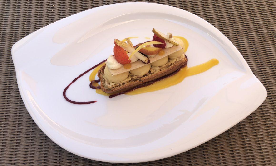 Dessert Hôtel la maison des blés